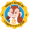 Highly Rated By Campsites-co-uk